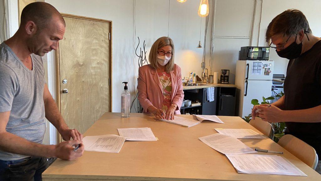 Signature projet habitation